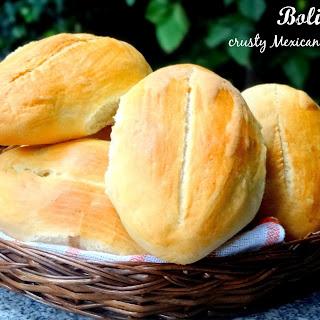 Bolillos - Crusty Mexican Rolls