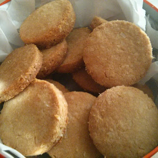 Low Carb Gluten Free Coconut Cookies.