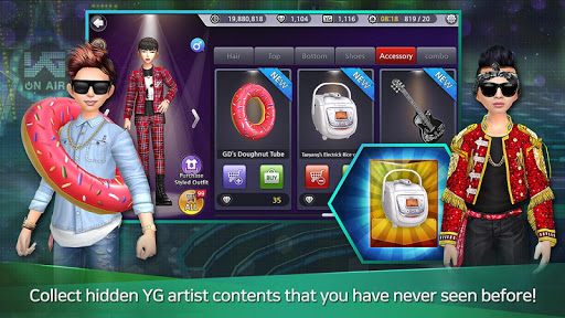 LINE Audition With YG 1.0.1.0 screenshots 6