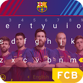 Barcelona Indestructible Keyboard Theme