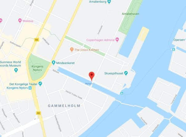 Nyhavn Map