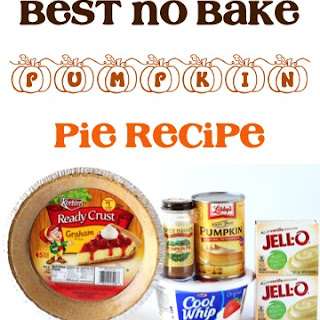 Best No Bake Pumpkin Pie Recipe!