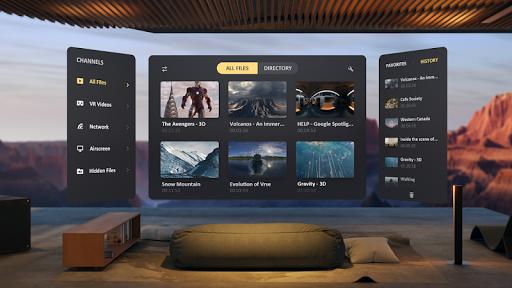SKYBOX VR Video Player  screenshots 2