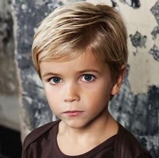 Little Boy účes - náhled
