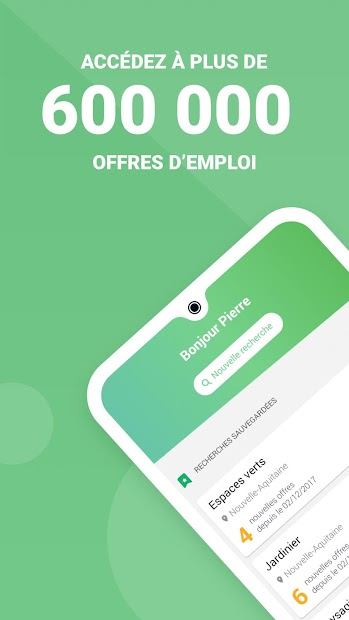 Mes Offres - Pôle emploi Android App Screenshot