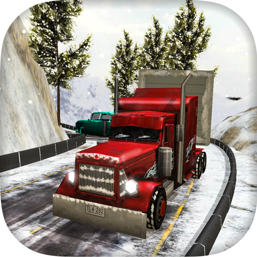 Off-road Snow Truck Driving