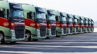 En Transportes Belzunces renuevan su flota de forma continua.