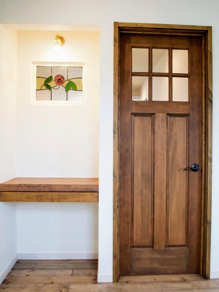 新築輸入ドア