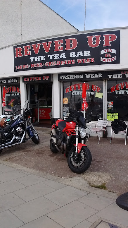 Ducati Monster 2014 1200 tea bar Walton