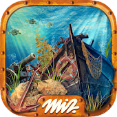 Hidden Objects Under the Sea - Treasure Hunt Games