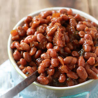 Baked Beans With Canned Beans Vegetarian Recipes.