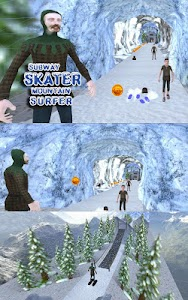 Subway Skater Mountain Surfer screenshot 9
