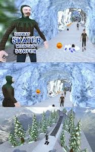Subway Skater Mountain Surfer screenshot 9