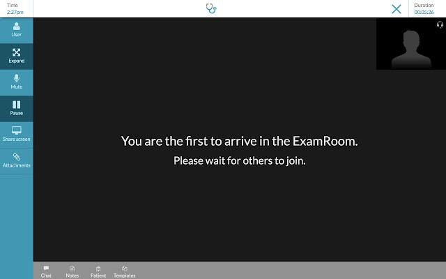 ExamMed Screen Sharing
