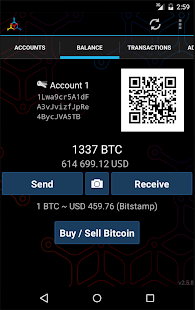 Mycelium Bitcoin Wallet- miniatura screenshot