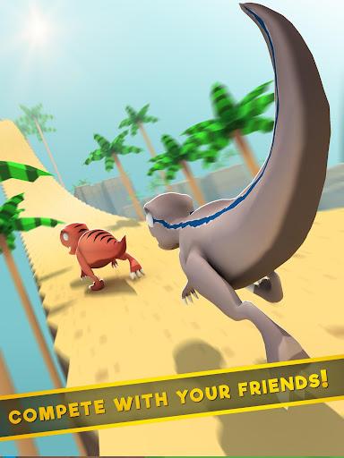 Jurassic Alive: World T-Rex Dinosaur Game screenshot 7
