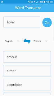 Pronunciation, Spelling Check & Word Translator- screenshot thumbnail