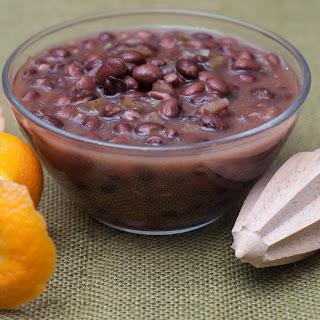 Black Beans in Soured Orange Juice