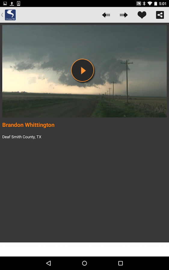 ChaserTV LIVE Weather Video- screenshot