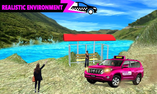 New York Taxi Duty Driver: Pink Taxi Games 2018 5.0 screenshots 6