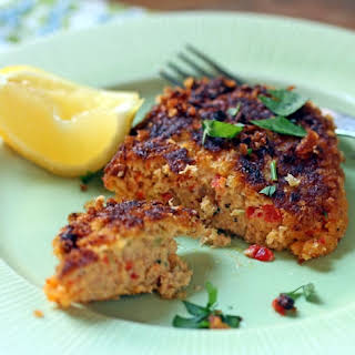 Pan-fried Tuna Croquettes.