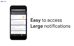 screenshot of Big Keyboard & Notifications - Senior Home Screen