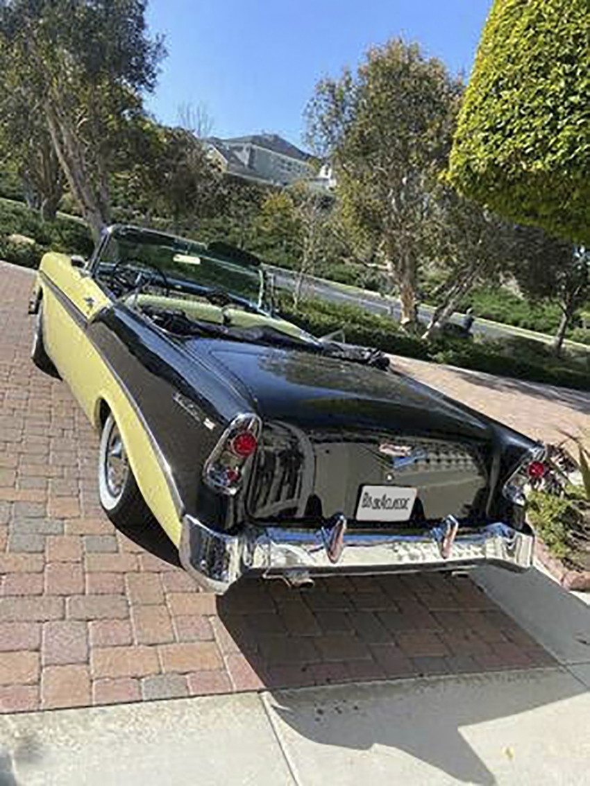 1956 Chevy Bel Air convertible Hire CA