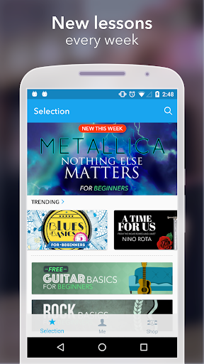 Coach Guitar: How to Play Easy Songs, Tabs, Chords 1.0.75 screenshots 5