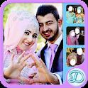 Hijab Wedding Couple icon