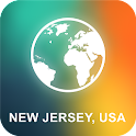 New Jersey, USA Offline Map icon