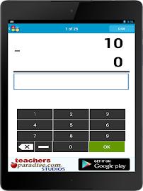 Math Practice Flash Cards Screenshot 8