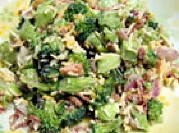 Over Night Broccoli And Cheese Salad