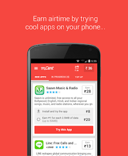 mCent - Free Mobile Recharge screenshot 00