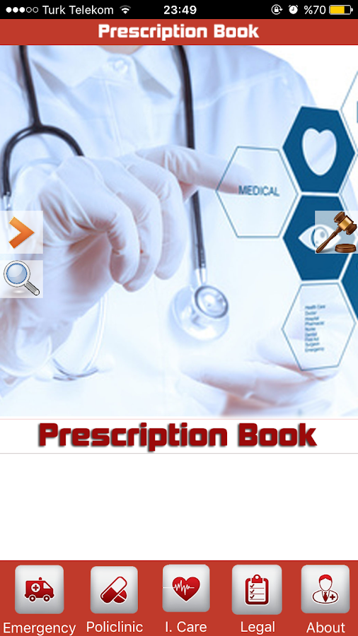 Prescription Book Emergency MD- screenshot