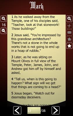 The Message Bible - screenshot