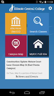 MyICC Illinois Central College- screenshot thumbnail