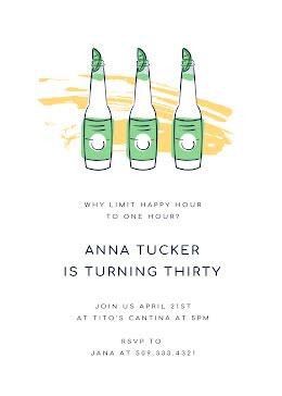 Anna's 30th Birthday - Birthday item