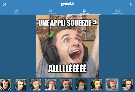 Squeezie- screenshot thumbnail