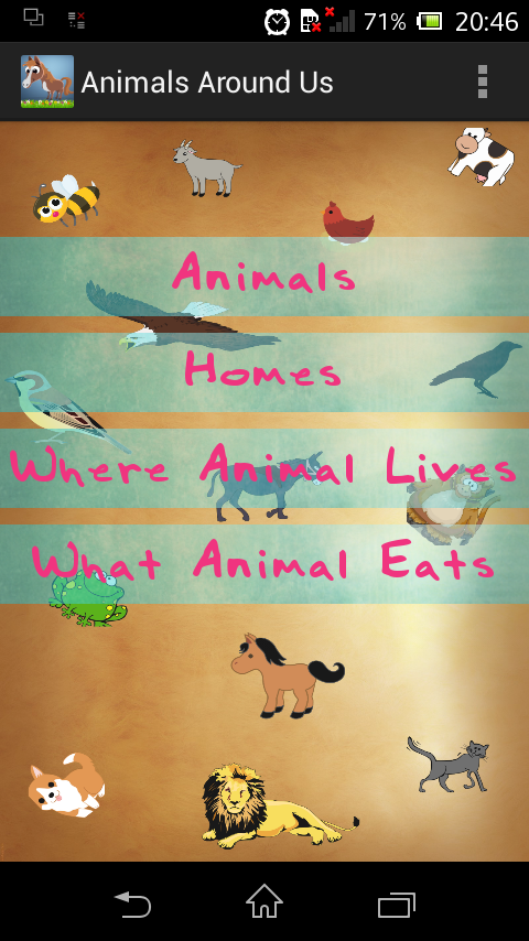 Animals Around Us- screenshot