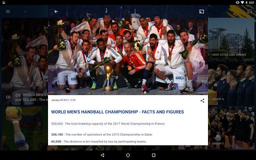 France 2017 Handball WC Live screenshot 9