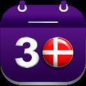Kalender med Danske Helligdage og Ferie i Danmark icon