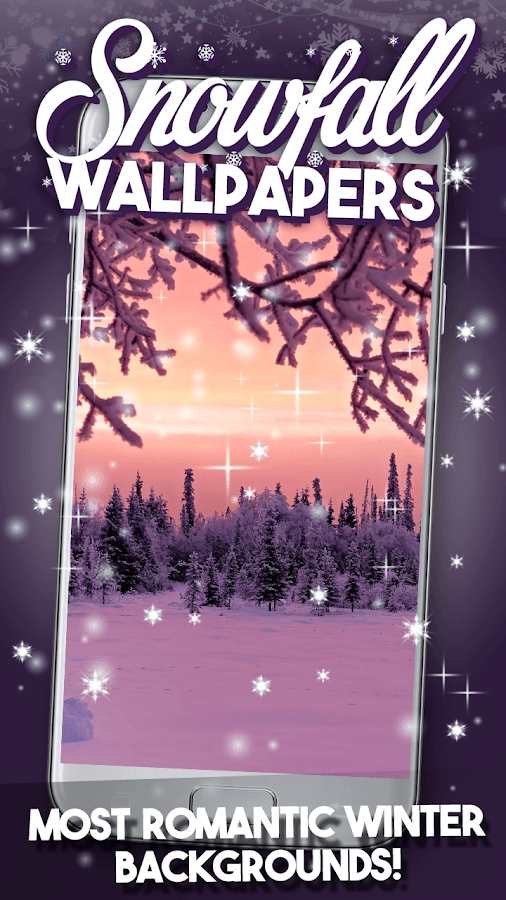 Snowfall Live Wallpaper - Android Apps on Google Play