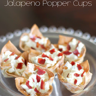 Bacon Jalapeno Popper Cups