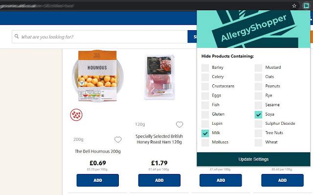 Allergy Shopper