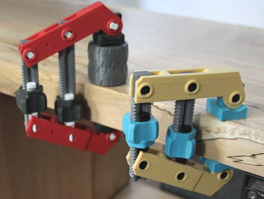 3D Printed C-Clamps