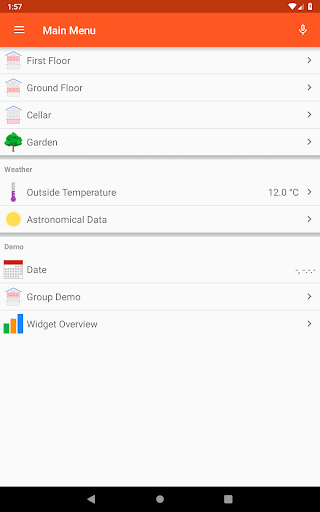 openHAB screenshot 15