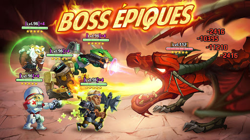 Code Triche Battle Arena: RPG avec des batailles u00e9piques APK MOD screenshots 2