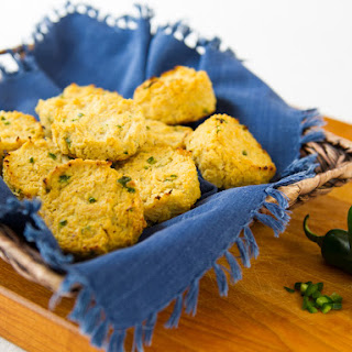Jalapeño Cauliflower Biscuits