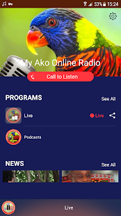 My Ako Online Radio - náhled