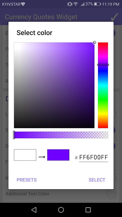 forex analytics widget